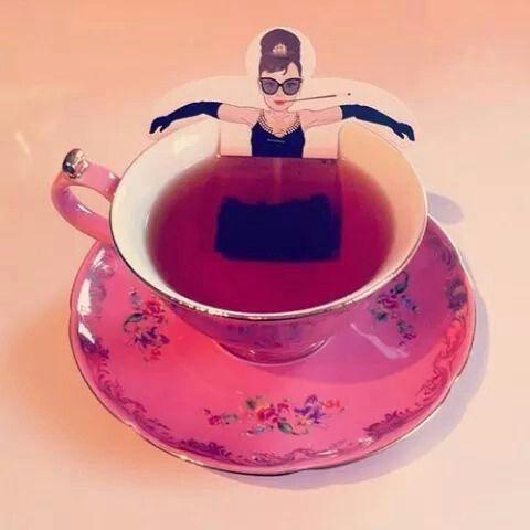 Mulher de chá hahaha