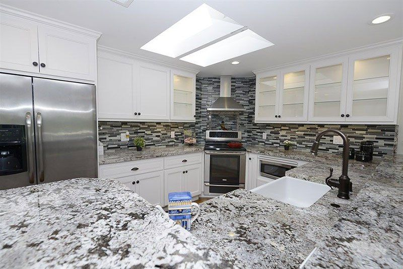 Alaska White Granite Countertops