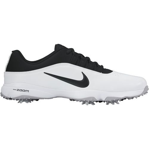 Nike Men s Air Zoom Rival 5 Golf Shoes White Black Wolf Grey - Men s ... 2eff998cb