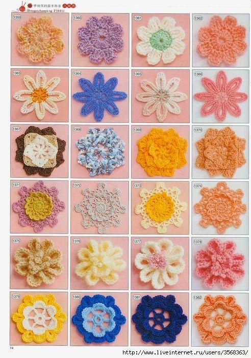 D I Y Do It Yourself Czyli Z T S Zrob To Sam Wzor Schemat Szydelkowe Kwiaty Crochet Flowers Crochet Flower Patterns Crochet