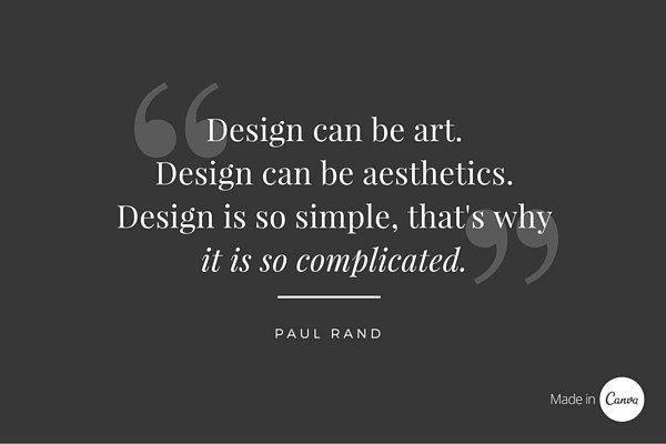 A Showcase Of 100 Design Quotes To Ignite Your Inspiration Interior Design Quotes Design Quotes Graphic Design Quotes