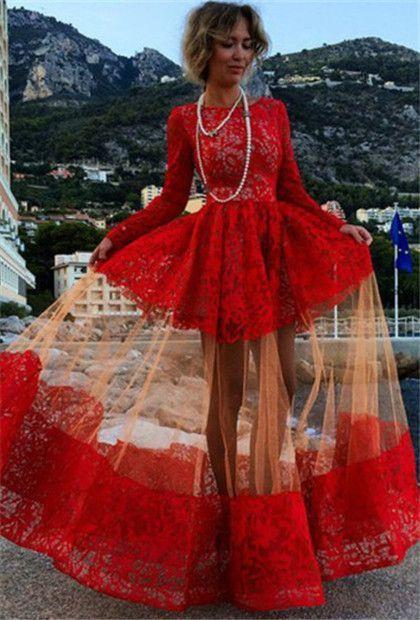 Sheer prom dresses pinterest