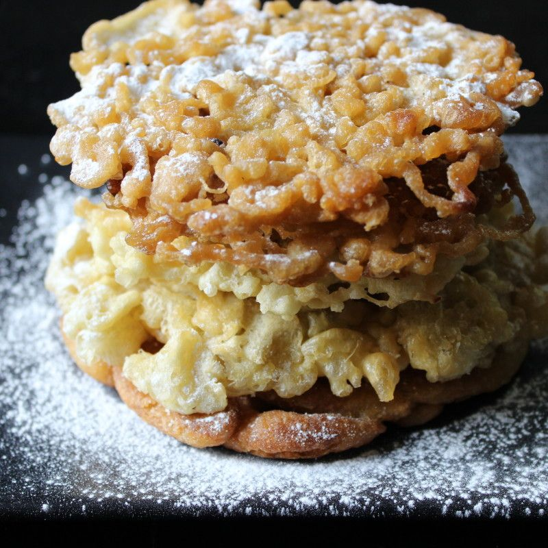 Paleo Grain Free Funnel Cake Predominantly Paleo