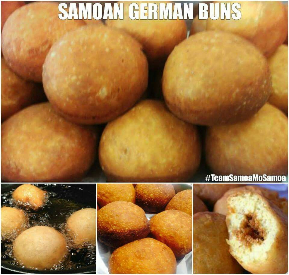 German buns recipe | Fooooodddddd! | Samoan food ...