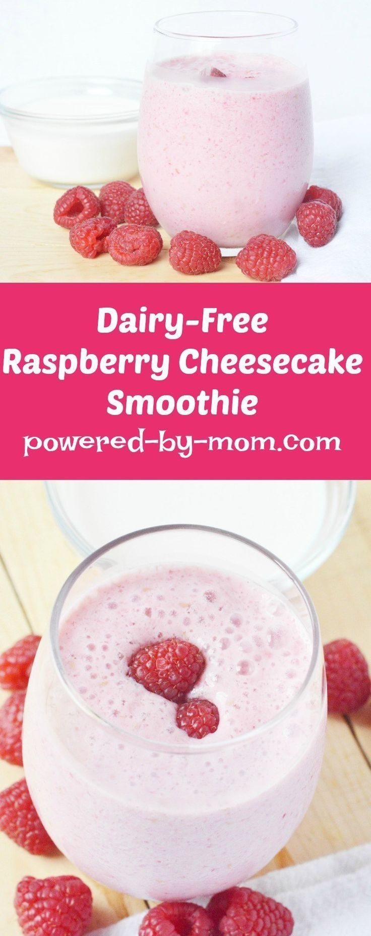 Healthy Smoothies2 2 Dairy2 2 Free Raspberry Cheesecake #dairyfreesmoothie