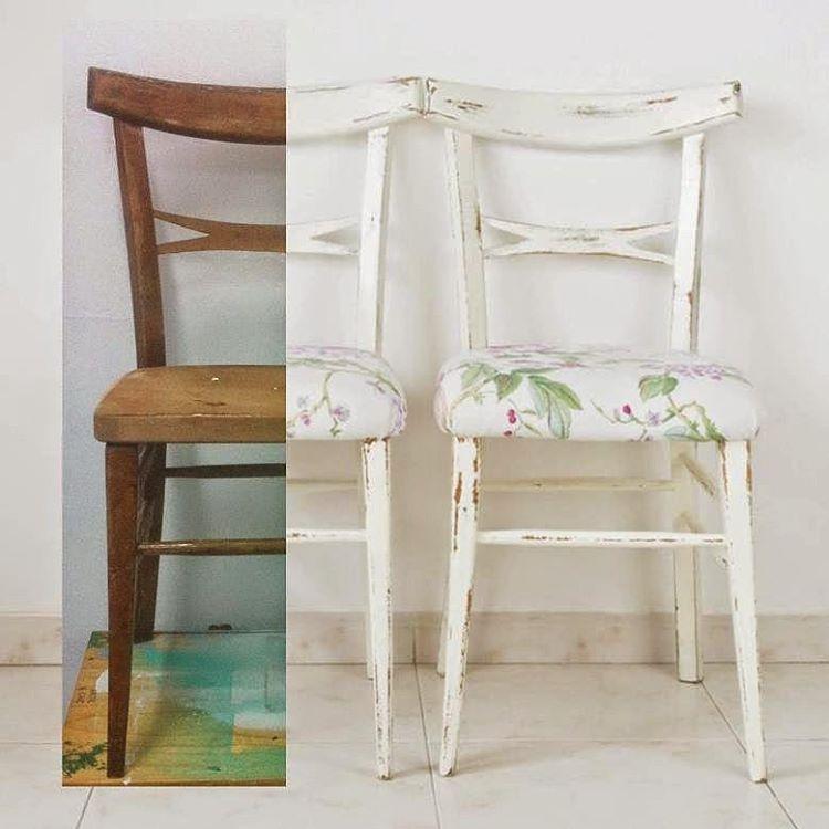 Recuperamos el DIY donde te mostramos cómo transformar unas sillas  con un aire tropical... Puedes encontrarlo en el blog!