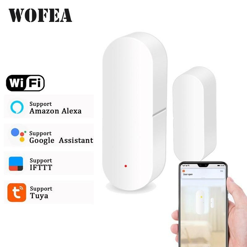 Wi Fi Detector Door Window In 2020 Smart Wifi Diy Security Camera Home Security