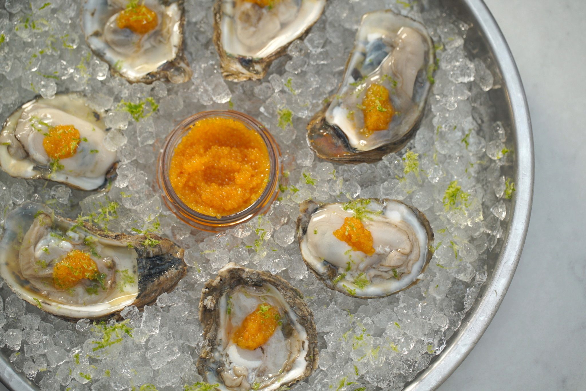 Gin Oysters On The Half Shell Recipe With Images Oyster