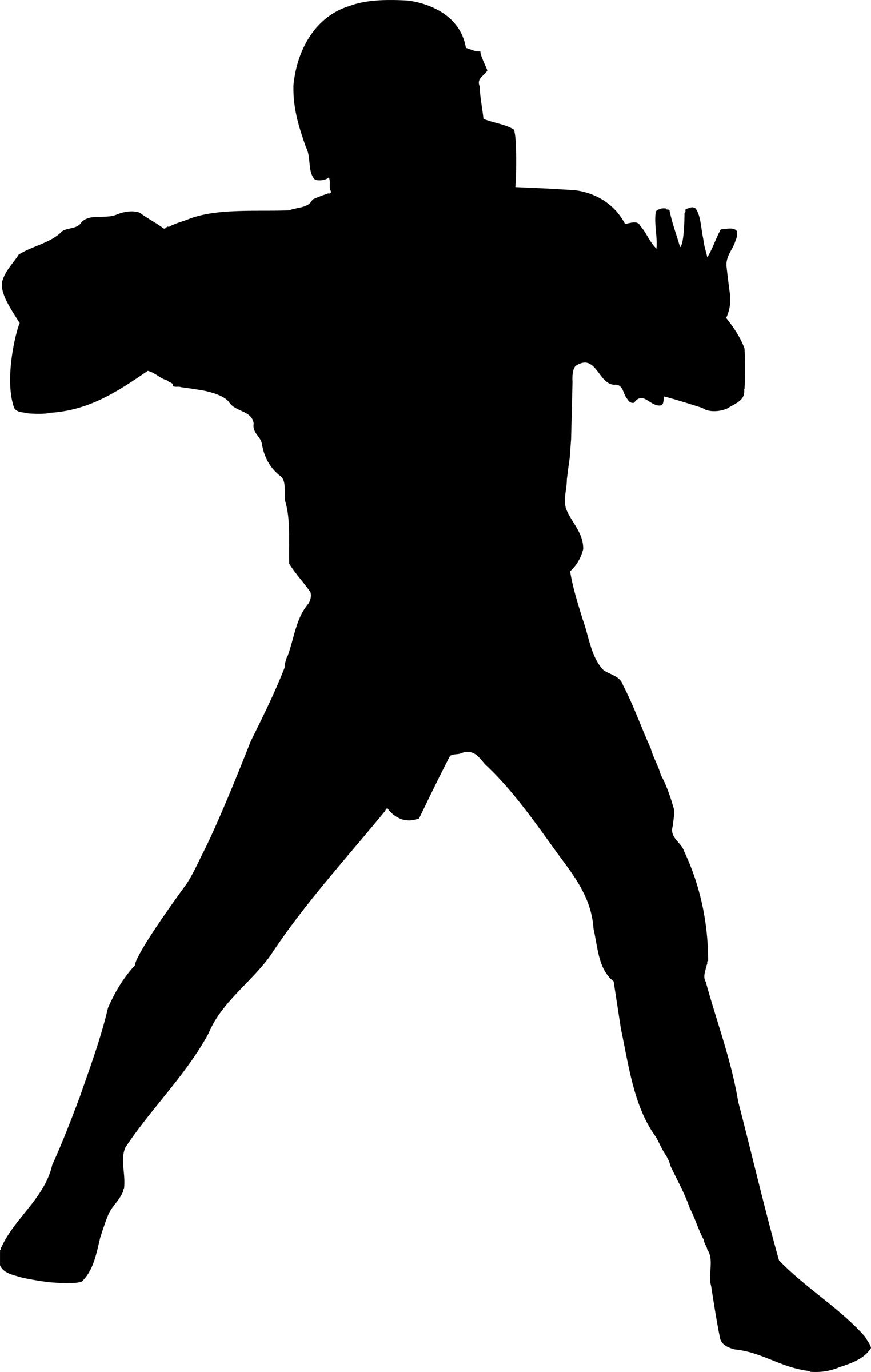 Football Player Silhouette Clip Art | Varsity Football | SPORTS ...