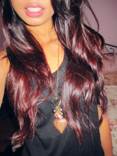 Red Ombre. LOVE!!
