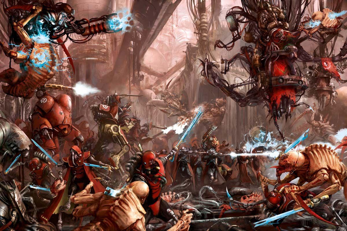 The Adeptus Mechanicus Warhammer Art Warhammer 40k Warhammer 40k Artwork Warhammer Art
