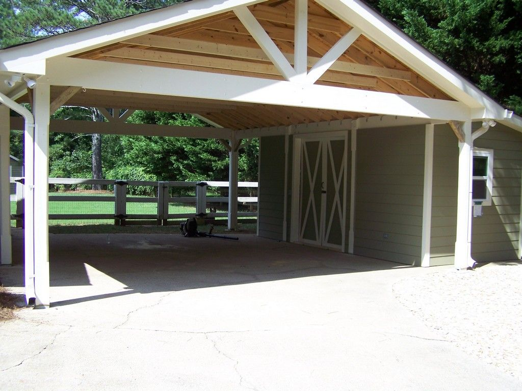 Image result for how to build a cheap carport Building a