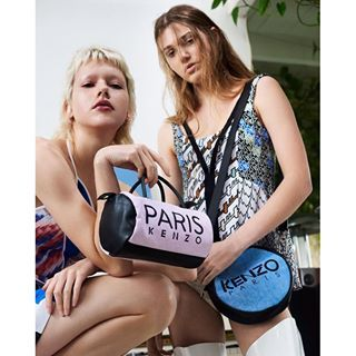 Instagram photo by kenzo - Which one? Get your KENZO PARIS mini bag #linkinbio #KENZOSS16
