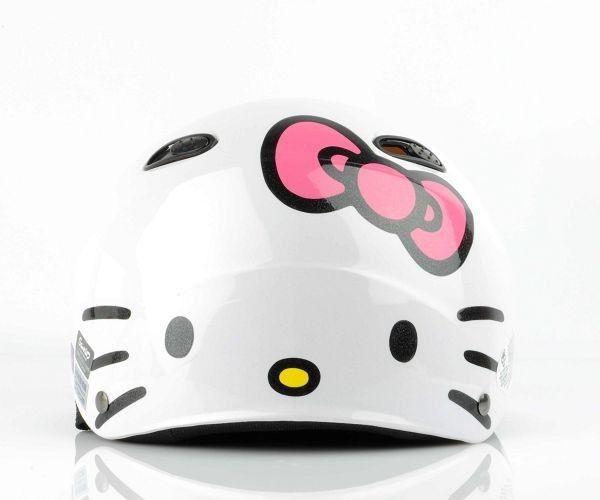 Hello Kitty Helmet Stickers Hello Kitty Helmet Stickers Funny - Pink motorcycle helmet decals