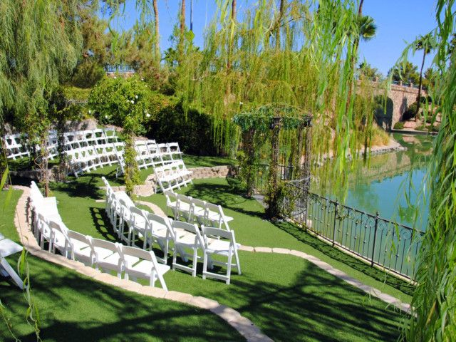 Las Vegas Lakeside Garden Weddings Always Forever And Receptions