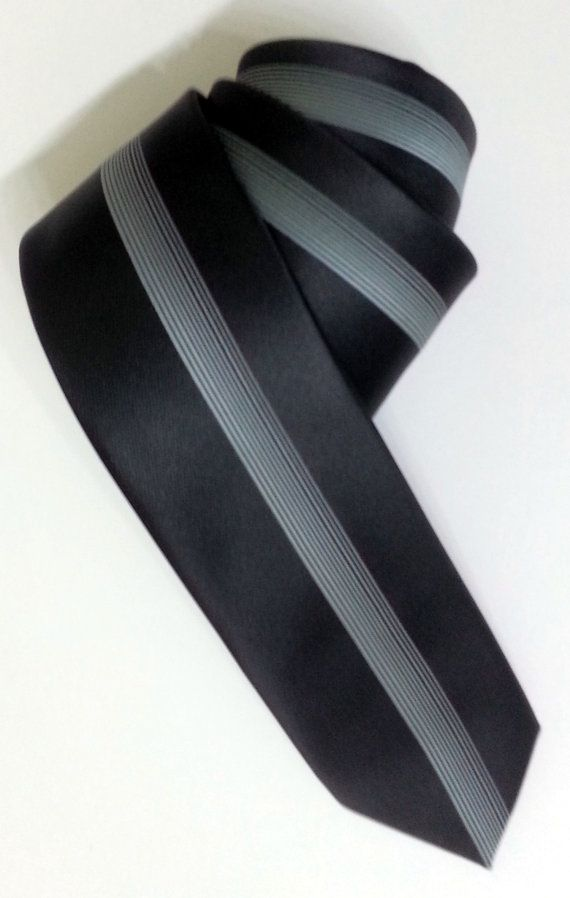 Black Necktie Black Men's Tie Black Cravat Black Tie by PeraTime #handmadeatamazon #nazodesign