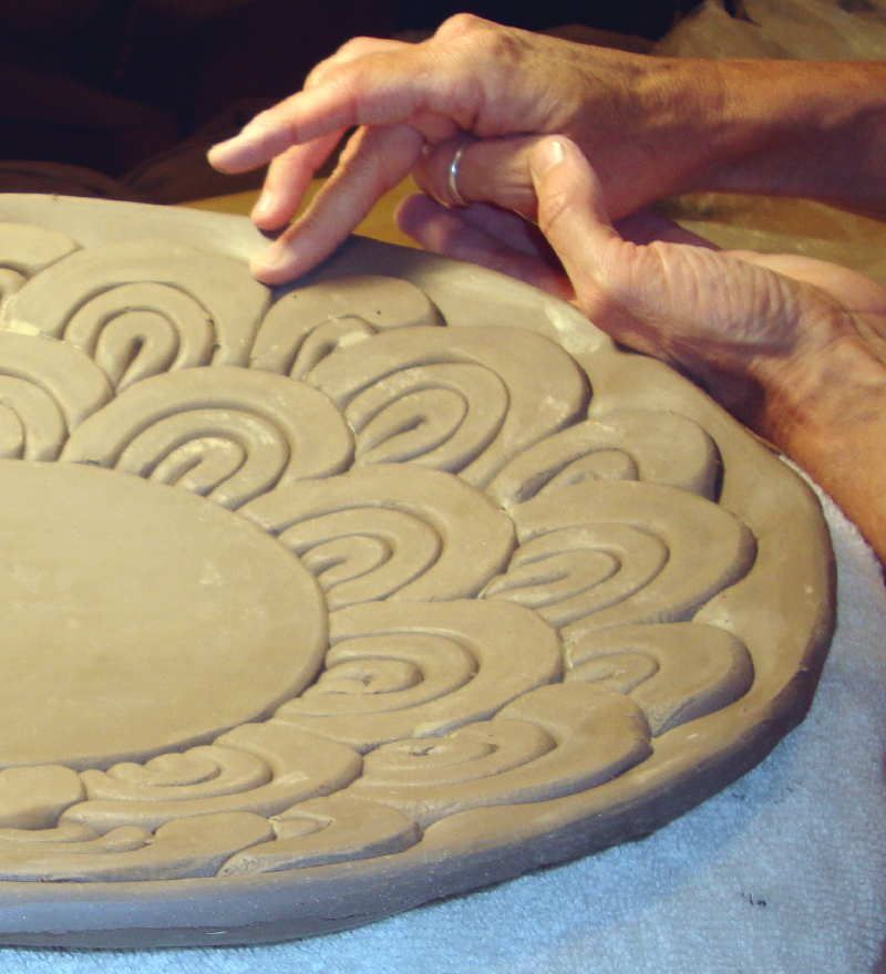Methods and techniques of hand building working with clay for Clay pot painting techniques
