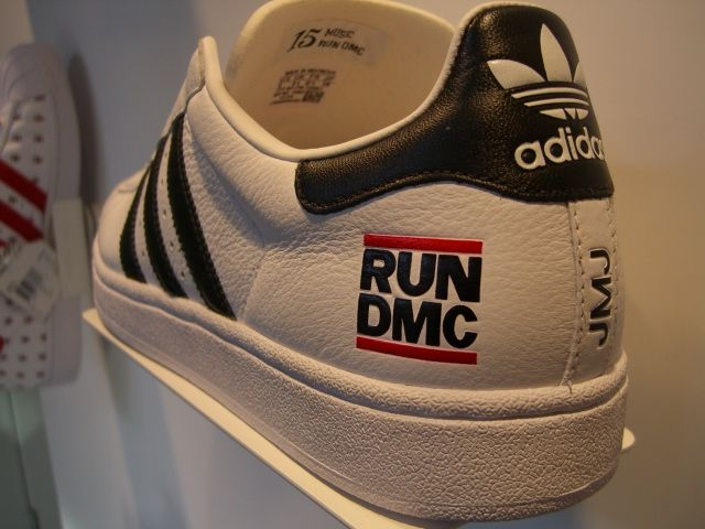 RUN-DMC Adidas.the originals, not the anniversary version.