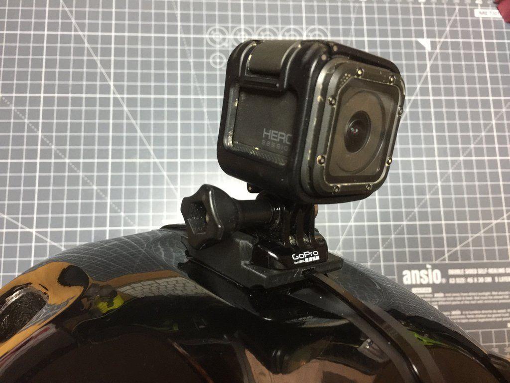 Quick Release Mount For Poc Trabec Helmets Action Camera