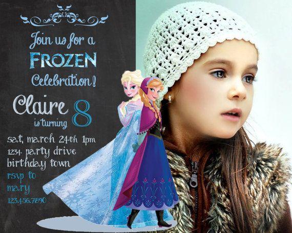 frozen birthday invitation - disney's frozen - disney princess, Birthday invitations