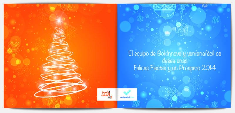 Felices y Fiestas y Próspero 2014