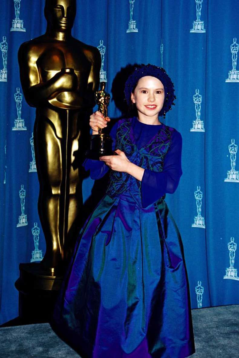 11 Year Girl Bedroom Decoration Ideas: Anna Paquin At The 66th Academy Awards, 1994. 11 Year Old