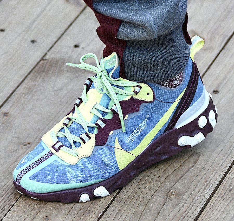 7c987e3879 UNDERCOVER x Nike React Element 87 Dress With Sneakers