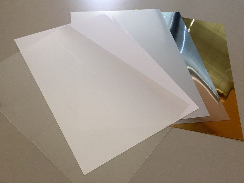Pellicole adesive a specchio per targhe Graf Adhesive