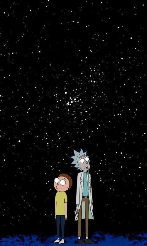 Rick And Morty Minimal Night 480x800 Wallpaper Iphone Wallpaper Rick And Morty Rick And Morty Poster Rick And Morty Drawing