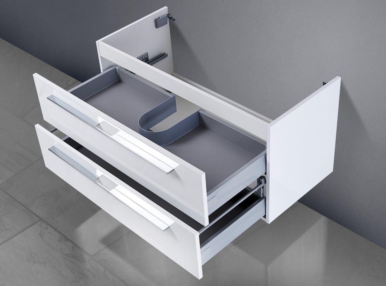 Unterschrank Zu Keramag Citterio 75 Cm Ablagefläche Rechts/links  Waschbeckenunterschrank 002 1025 Nice Design