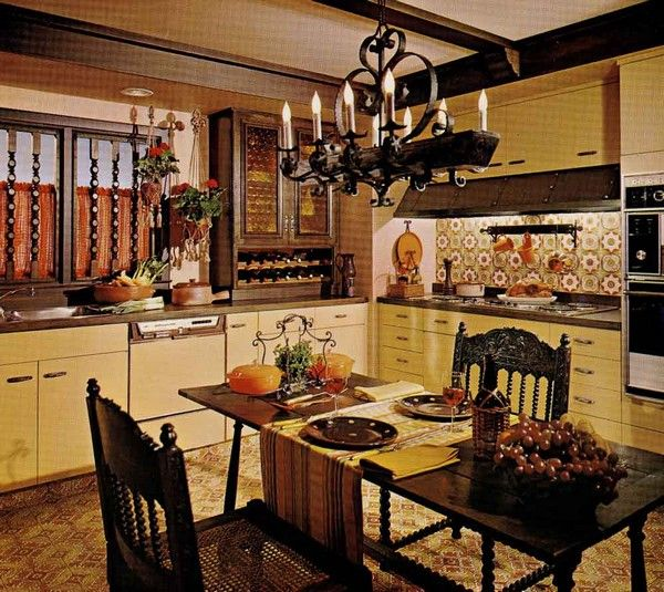 Spanish Style Kitchen Vintage And Antique Furniture Spanish