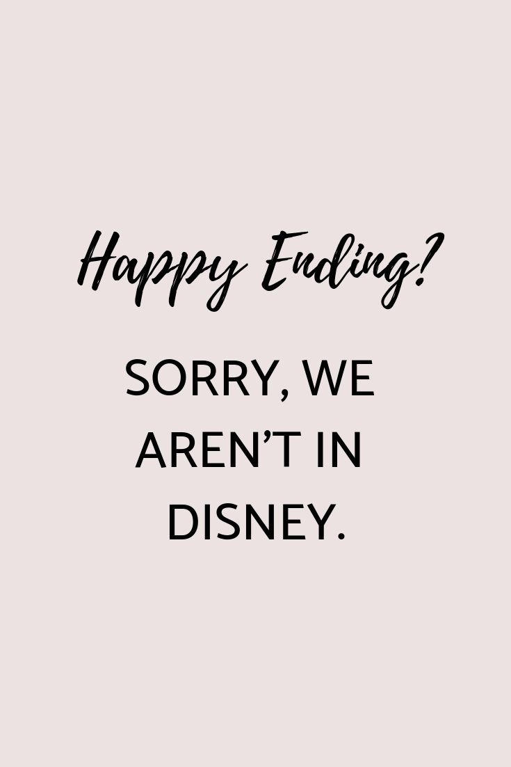 No happy End? #quotes