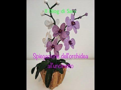 Il blog di sam spiegazione dell 39 orchidea all 39 uncinetto for Il blog di sam piante grasse