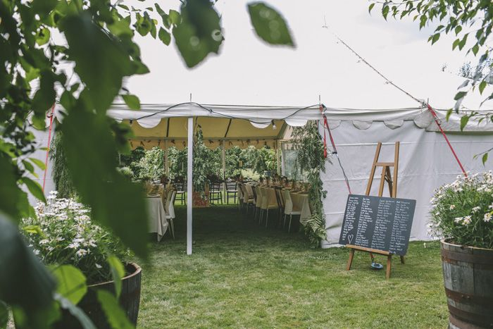 Tent Wedding Reception | i take you #weddingreception