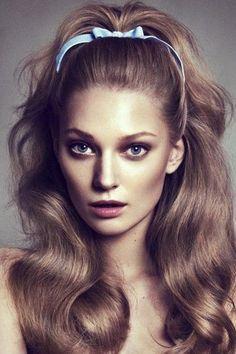 d5f683826 Hermosos peinados de los años 60 que podrás usar hoy mismo | Make-Up ...