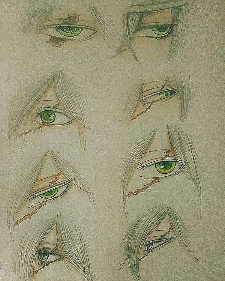 Kuroshitsuji Undertaker Eyes