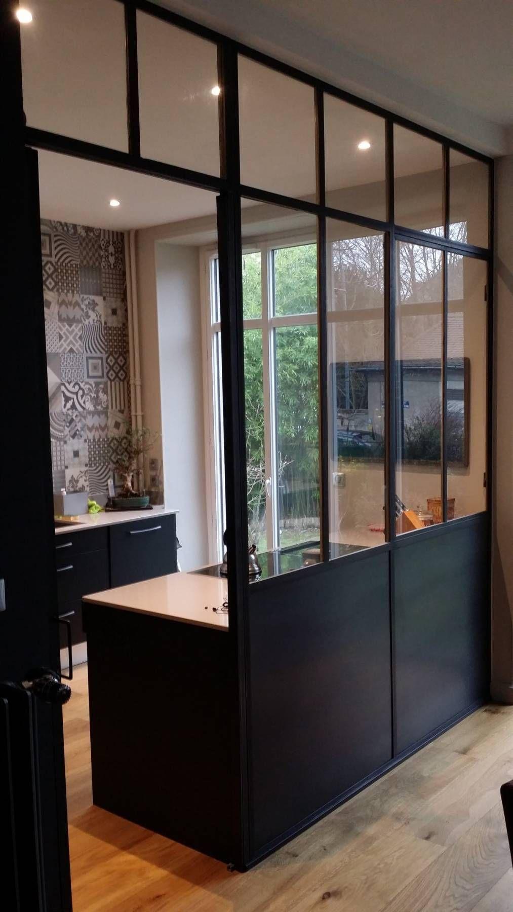 Verri re plexiglas solution pas ch re pour s 39 offrir une - Separation en verre cuisine salon ...