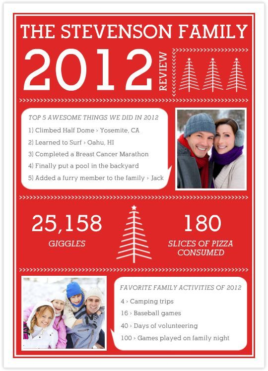 image result for christmas newsletter layout newsletter