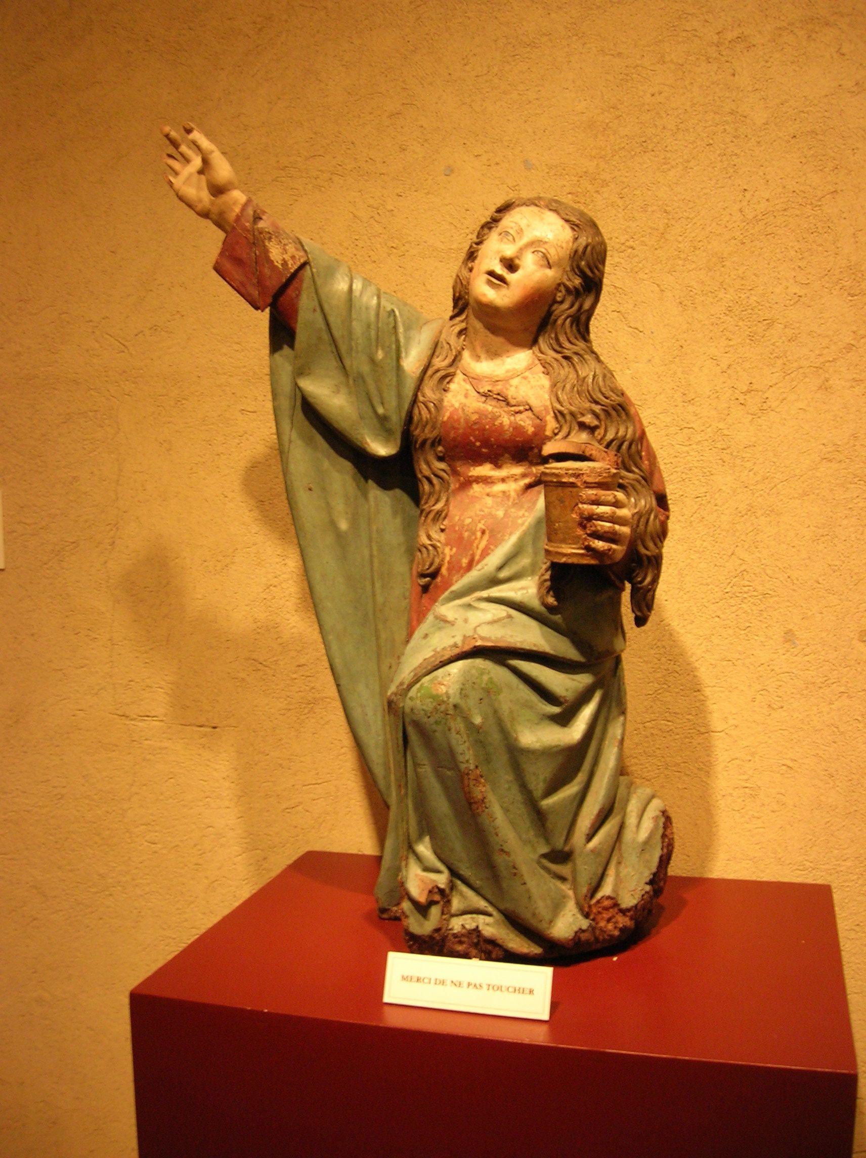 Anonyme Sainte Madeleine Mary Magdalene Art Statue