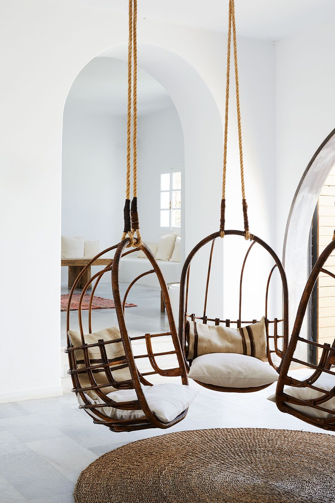 Interior Design Lobby at San Giorgio Mykonos Home Inspiration