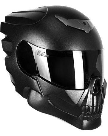 Buy Motorcycle Helmet >> Buy Motorcycle Skull Helmet Hells Rider Nlo Moto Ru
