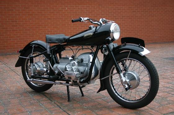 ❦ 1955 Wooler Motorcycle 1955 Wooler Flat Four