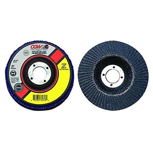 Cgw Abrasives 421 31172 4 1 2x5 8 11 Zs 40 T27 Reg Stainless Flap Disc Rm G4h4e54 E4r46t32524004 Basic Office Supplies Abrasive School Supplies List