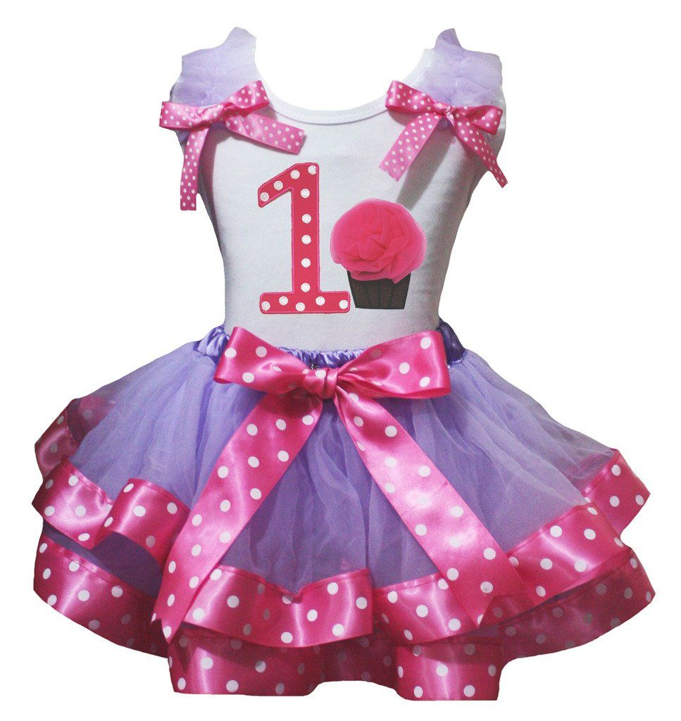 Petitebella My 6th Birthday White Shirt Hot Pink Heart Petal Skirt Outfit Nb-8y