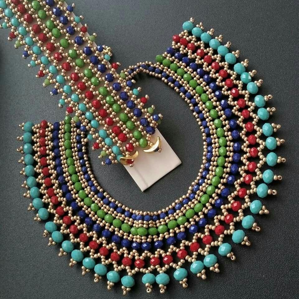 Pin by Selma Su on deneyecegim seyler   Pinterest   Beads, Bead ...
