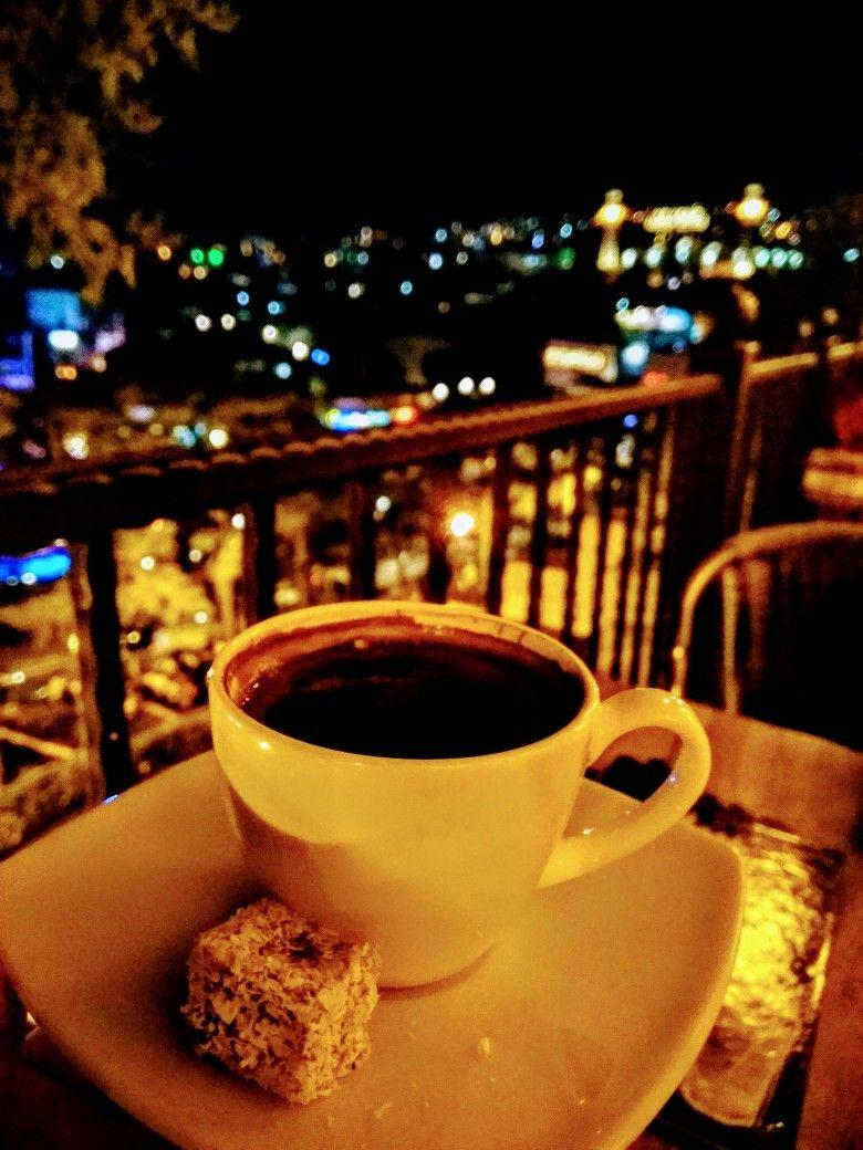 направление фото кофе ночью в кафе семь