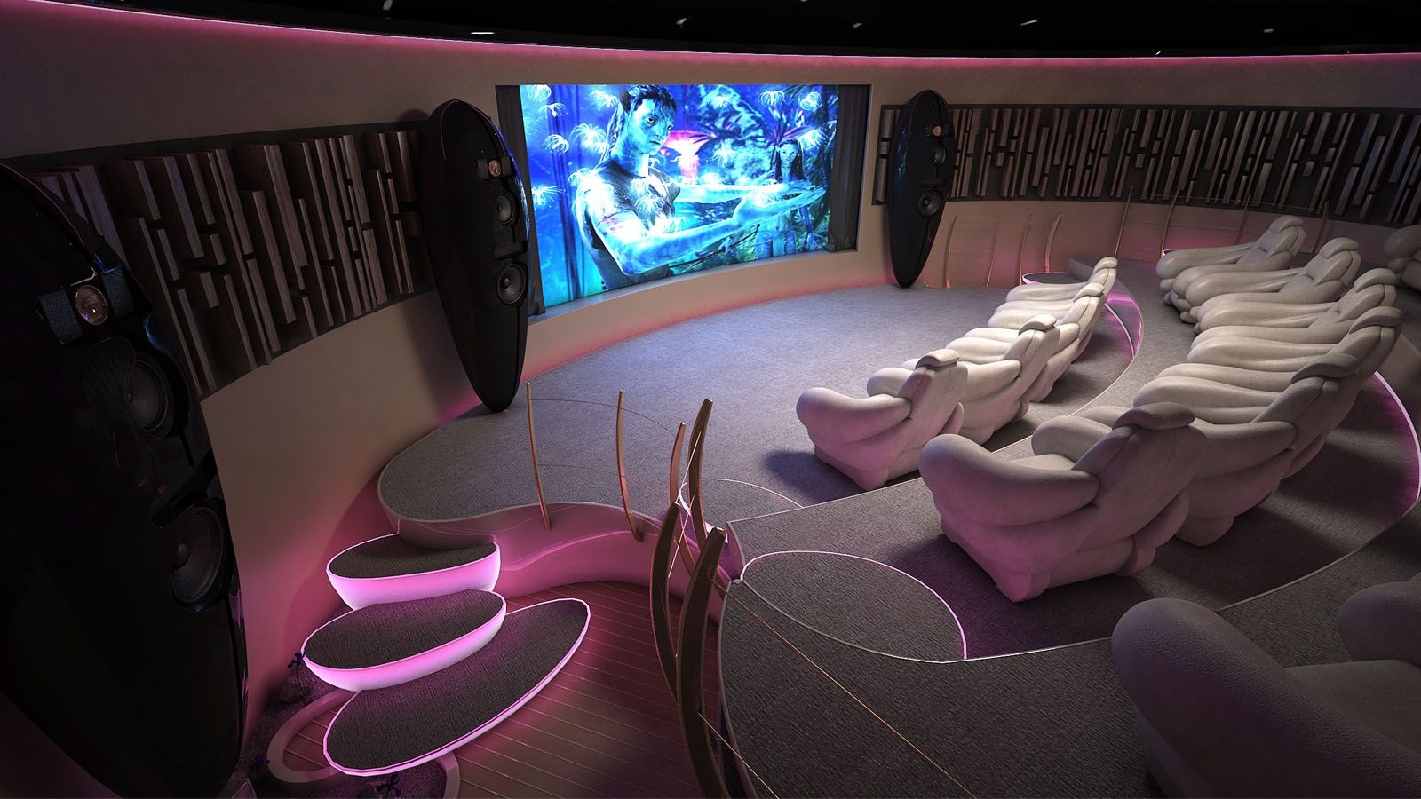 Le cin ma maison ce que vous devez savoir room cinema for Luxury home theater rooms
