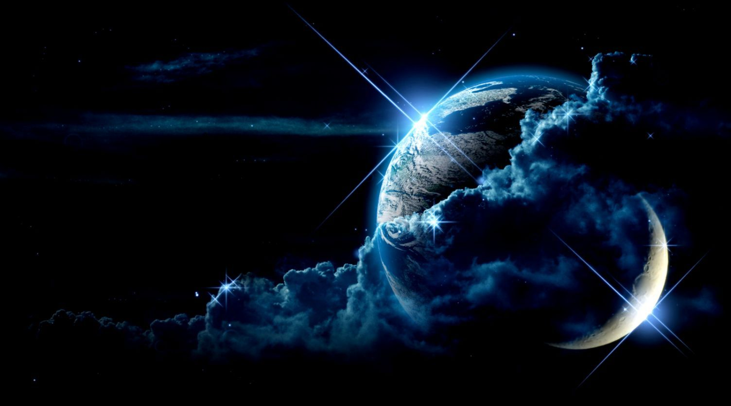 Earth And Moon Wallpapers Movie Hd Wallpapers Space Fantasy Planets Wallpaper Hd Space