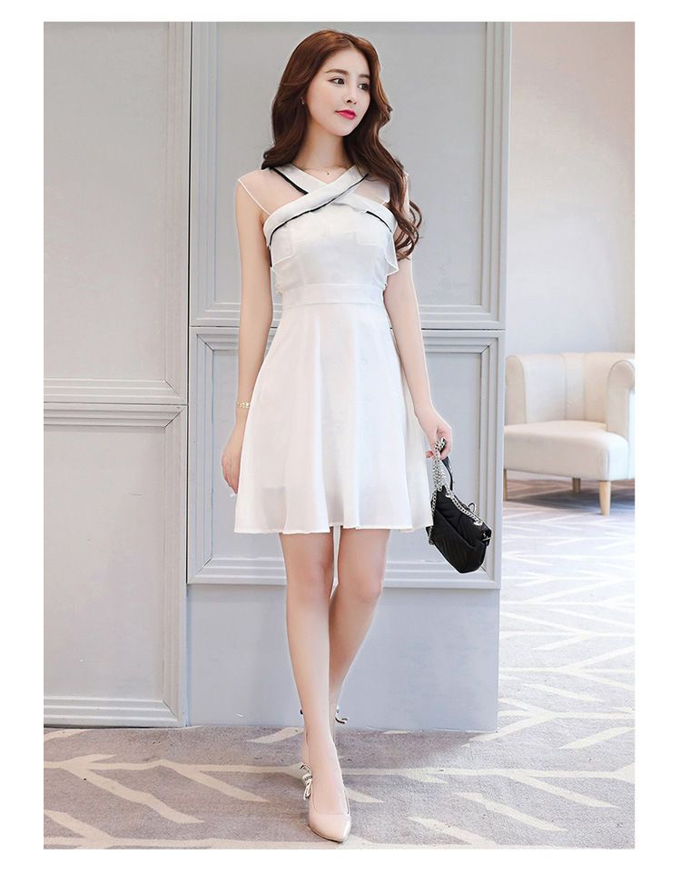 Buy Elinor Mesh Panel Sleeveless A-Line Dress at YesStyle.com! Quality  products at remarkable prices. FREE Worldwide Shipping available! e5180216521b
