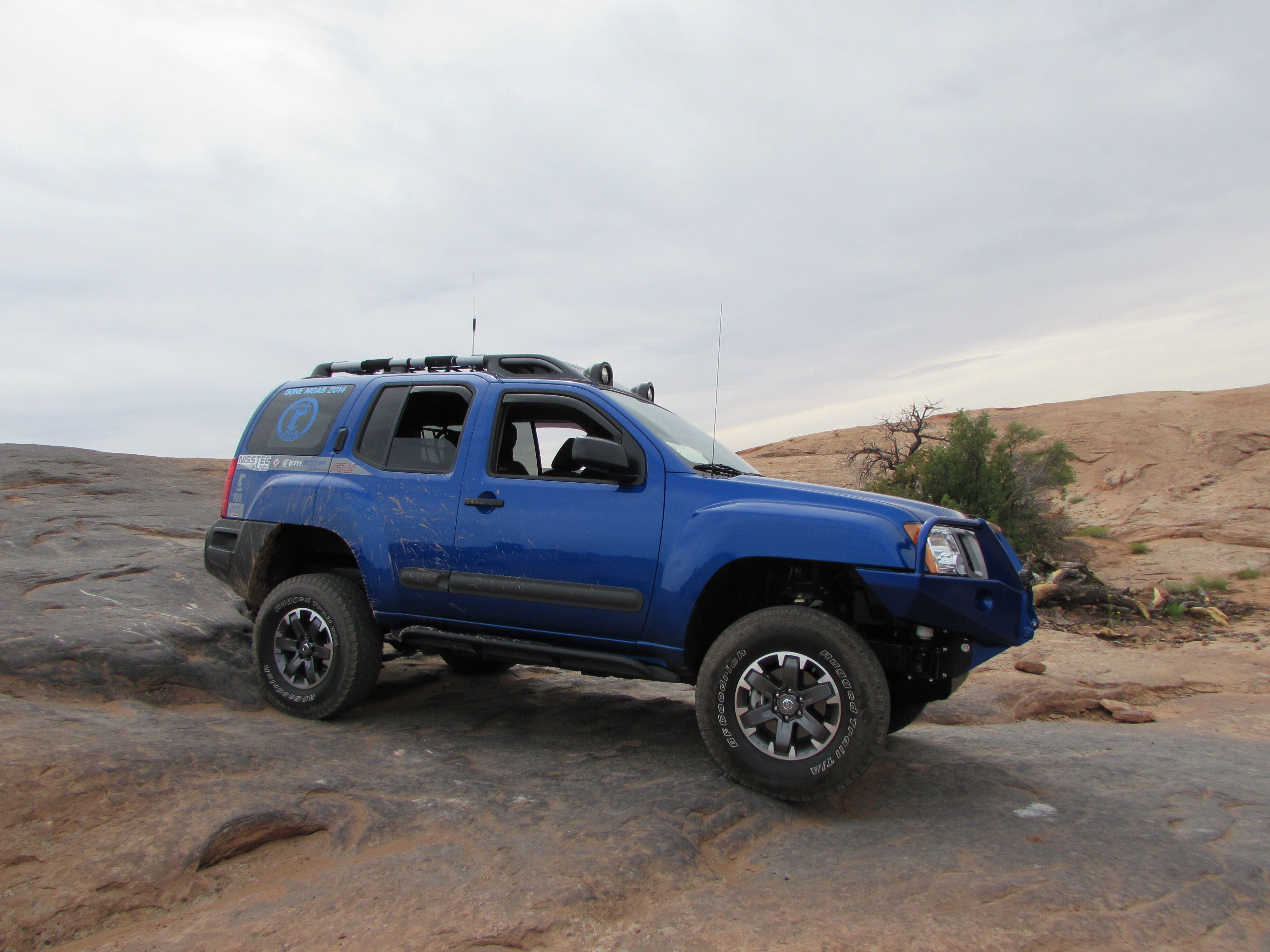 Raingler S Xterra With Nisstec S Lifts 4 5 Kit Bitchin Blue